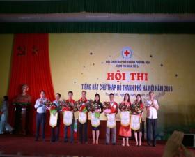 Hội thi tiếng hát Chữ thập đỏ thành phố Hà Nội năm 2019- Cụm thi đua số 5