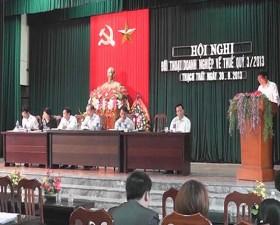 Hội nghị đối thoại thuế quý 3 năm 2013
