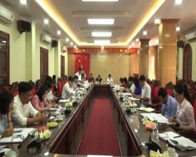 Đoàn kiểm tra của Thành ủy kiểm tra việc thực hiện Chỉ thị số 32 của Ban Bí thư Trung ương Đảng khóa IX tại huyện Thạch Thất