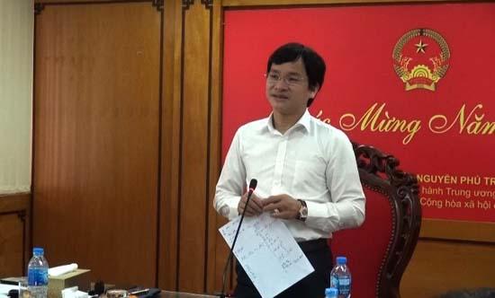 Ban Thường vụ Huyện ủy Thạch Thất họp đầu năm mới 2019
