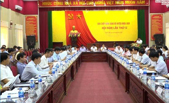 Đảng bộ huyện tăng cường công tác tổ chức xây dựng Đảng