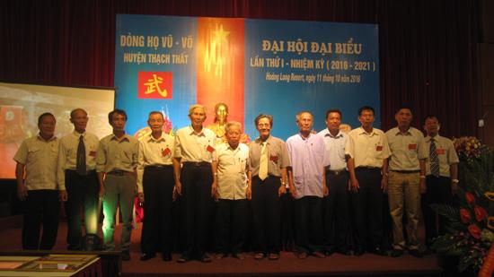 Dòng họ Vũ- Võ huyện Thạch Thất tổ chức Đại hội đại biểu lần thứ nhất nhiệm kỳ 2016-2021