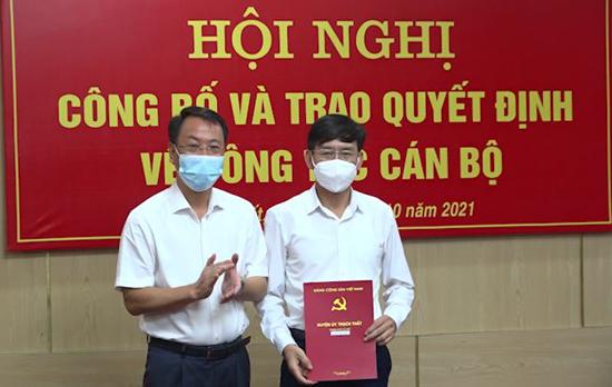 Lễ công bố Quyết định bổ nhiệm chức vụ Giám đốc Trung tâm Phát triển quỹ đất huyện Thạch Thất