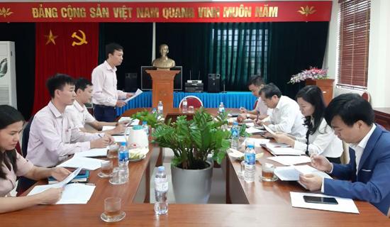Hội nghị giao ban liên ngành 10 tháng đầu năm 2020