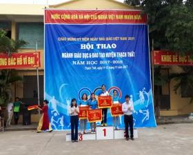 Hội thao ngành Giáo dục & Đào tạo huyện Thạch Thất