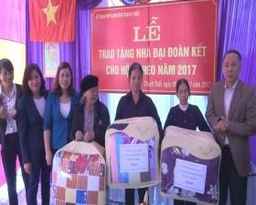 UB MTTQ các cấp huyện Thạch Thất triển khai nhiều hình thức hỗ trợ hộ nghèo