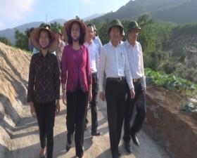 Đồng chí Phó Bí thư Thường trực Thành ủy Hà Nội kiểm tra tiến độ thực hiện Chương trình 02 và tham quan mô hình sản xuất nông nghiệp công nghệ cao trên địa bàn huyện Thạch Thất