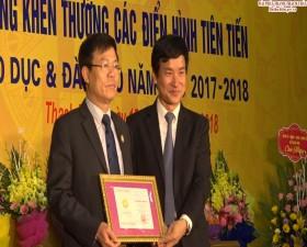 Kỷ niệm ngày Nhà giáo Việt Nam 20/11 và tuyên dương khen thưởng các điển hình tiến tiến ngành Giáo dục và Đạo tạo