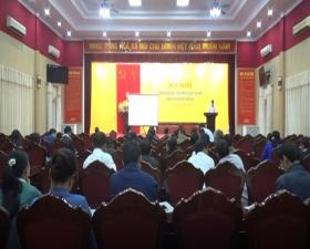 Hội nghị triển khai chương trình mỗi xã 1 sản phẩm