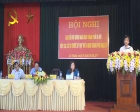 Đại biểu HĐND thành phố Hà Nội tiếp xúc cử tri trước kỳ họp thứ 5- HĐND Thành phố khóa XV tại xã Lại Thượng