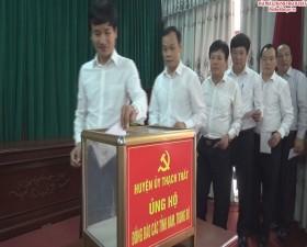 Ban Chấp hành Đảng bộ huyện Thạch Thất bầu bổ sung Ủy viên Ban Thường vụ Huyện ủy nhiệm kỳ 2015 - 2020