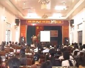 Xã Tân Xã khai giảng lớp bồi dưỡng kiến thức quốc phòng an ninh cho đối tượng 5