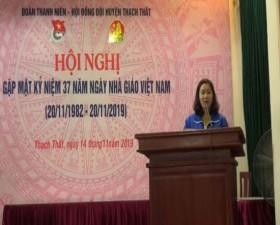 Huyện đoàn: Gặp mặt kỷ niệm 37 năm ngày Nhà giáo Việt Nam 20/11