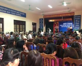 Mít tinh hưởng ứng Ngày thế giới phòng chống bệnh đái tháo đường 14/11