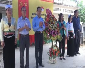 Thôn Thuống - Xã Yên Bình tổ chức ngày hội Đại đoàn kết toàn dân tộc