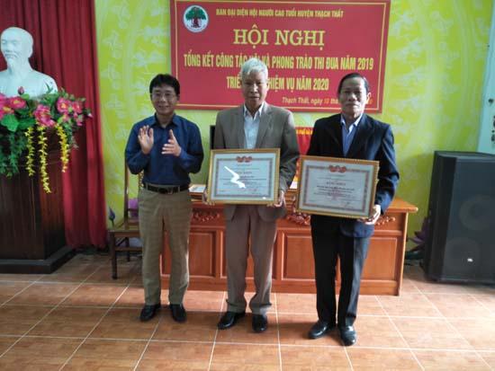 Hội Người cao tuổi huyện Tổng kết hoạt động năm 2019