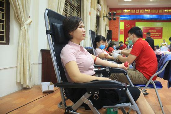 Sức lan tỏa trong phong trào Hiến máu tình nguyện tại Cụm 4