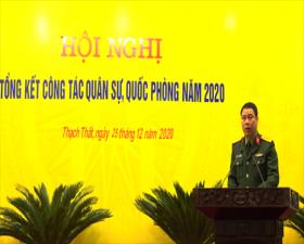 Thạch Thất: Tổng kết công tác quốc phòng, quân sự năm 2020