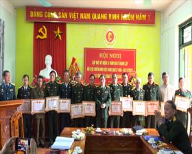 Hội Cựu chiến binh huyện: Gặp mặt kỷ niệm 31 năm ngày thành lập Hội Cựu chiến binh Việt Nam