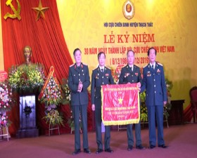 Thạch Thất kỷ niệm 30 năm ngày thành lập Hội Cựu chiến binh Việt Nam
