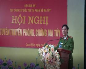 Hội nghị tuyên truyền phòng chống ma túy tại xã Canh Nậu