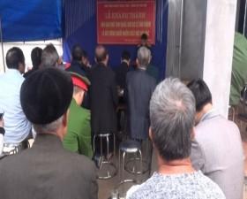 Xã Phú Kim khánh thành Nhà tình nghĩa cho đối tượng chính sách