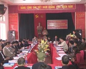 Tọa đàm dân vận khéo về công tác giải phóng mặt bằng- xây dựng nông thôn mới và dồn điền đổi thửa ở Tân Xã