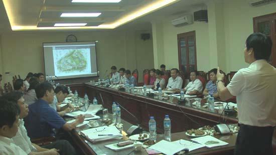 Hội nghị lấy ý kiến quy hoạch chi tiết xây dựng khu nghĩa trang huyện Thạch Thất