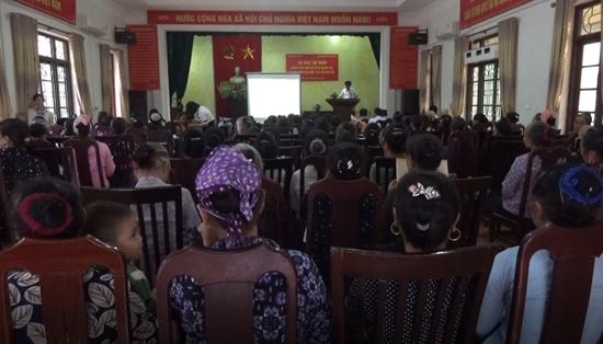 Tập huấn, tuyên truyền Pháp luật nông nghiệp và Phát triển nông thôn năm 2020 tại xã Dị Nâu