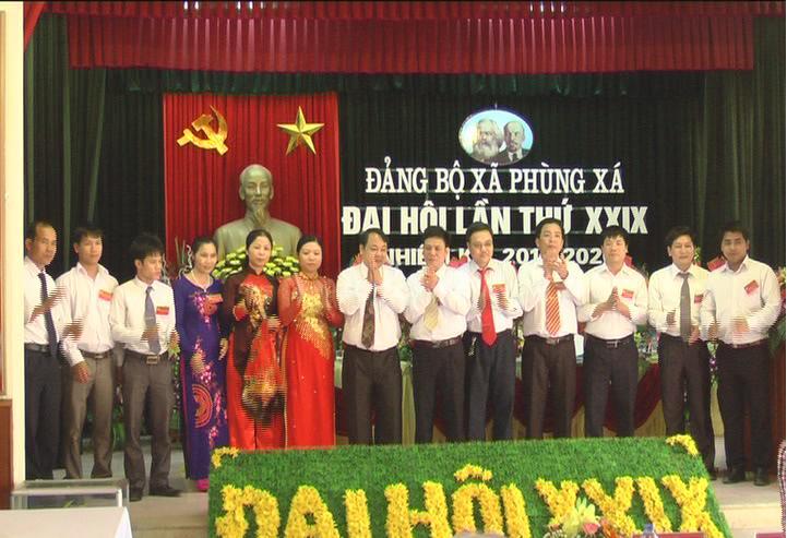 Đại hội Đảng bộ xã Phùng Xá lần thứ 29 nhiệm kỳ 2015- 2020.