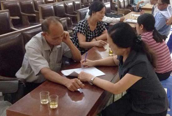 Trợ giúp pháp lý lưu động tại xã Chàng Sơn
