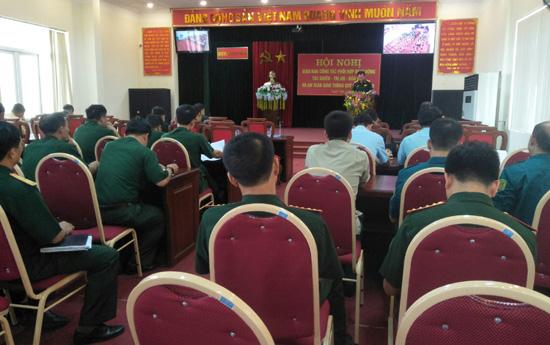 Hội nghị giao ban phối hợp hoạt động Tác chiến- Trị an-  Dân vận và An toàn giao thông