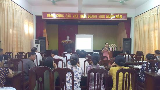 Hội nghị tuyên truyền chính sách Dân số- Kế hoạch hóa gia đình