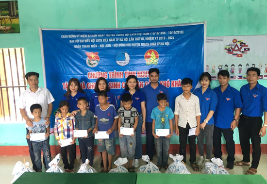 Tuổi trẻ huyện Thạch Thất tổ chức Hành trình tình nguyện