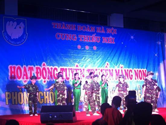 Tuyên truyền măng non về phòng chống xâm hại tình dục trẻ em tại xã Thạch Hòa
