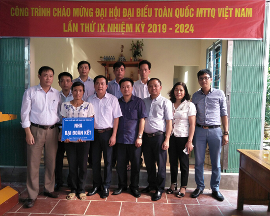 Kỷ niệm 89 năm ngày thành lập MTTQ Việt Nam: Ủy ban MTTQ huyện Thạch Thất phát huy vai trò của Mặt trận Tổ quốc Việt Nam trong thời kỳ đổi mới