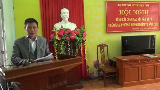 Hội Cựu Thanh niên xung phong huyện Thạch Thất tổng kết năm 2019