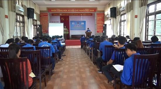 Chương trình tập huấn tư vấn khởi sự doanh nghiệp cho đoàn viên, thanh niên huyện Thạch Thất năm 2019