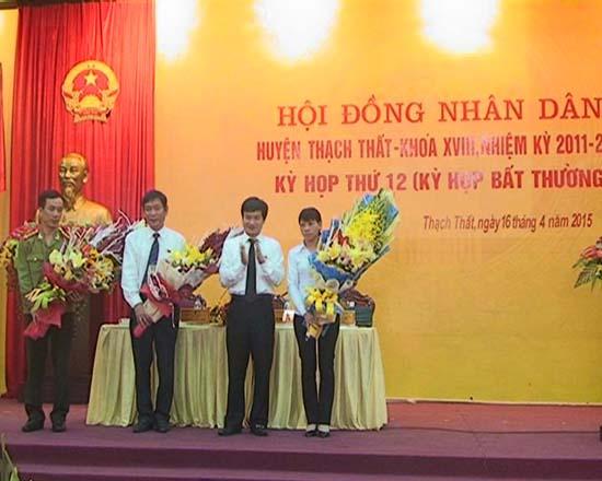 HĐND huyện Thạch Thất khóa 18 nhiệm kỳ 2011- 2016 tổ chức kỳ họp lần thứ 12 - kỳ họp bất thường