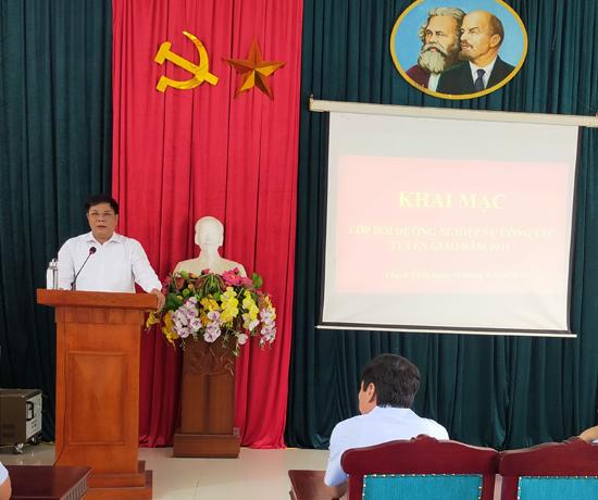 Thạch Thất bồi dưỡng nghiệp vụ công tác Tuyên giáo cho 161 học viên