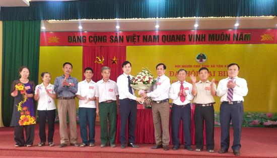Đại hội Hội Người cao tuổi xã Tân Xã nhiệm kỳ 2021 - 2026 thành công tốt đẹp