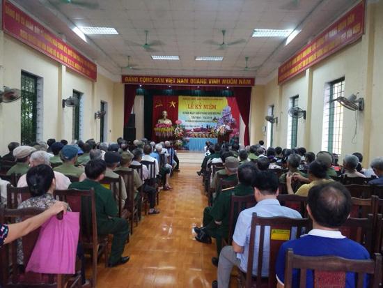 Hội Truyền thống Trường Sơn xã Hương Ngải kỷ niệm 60 năm Ngày mở đường Hồ Chí Minh