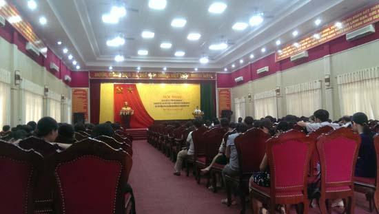 Đảng bộ cơ quan UBND huyện học tập chuyên đề tư tưởng Hồ Chí Minh năm 2017 và Nghị quyết số 11 của Thành ủy Hà Nội về tăng cường công tác bảo vệ môi trường
