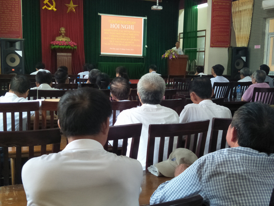 Ủy ban Mặt trận Tổ quốc xã Phú Kim sơ kết công tác 9 tháng đầu năm 2018