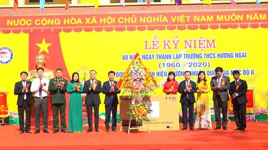 Lễ kỷ niệm 60 năm ngày thành lập trường THCS Hương Ngải
