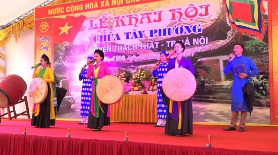 Năm 2021: Quản lý và tổ chức lễ hội trên địa bàn huyện Thạch Thất đảm bảo tiết kiệm, trang trọng, thiết thực và đảm bảo công tác phòng, chống dịch Covid-19