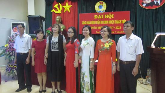 Đại hội Công đoàn Bệnh viện đa khoa huyện Thạch Thất