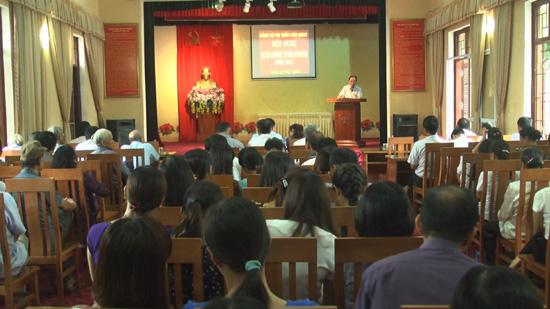 Đảng bộ thị trấn Liên Quan học tập chuyên đề Tư tưởng Hồ Chí Minh năm 2017 và Nghị quyết số 11 của Thành ủy Hà Nội