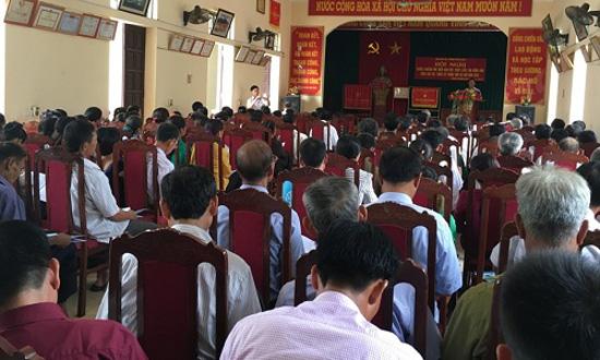 Đảng bộ xã Dị Nậu học tập chuyên đề Tư tưởng Hồ Chí Minh năm 2017 và Nghị quyết số 11 của Thành ủy Hà Nội