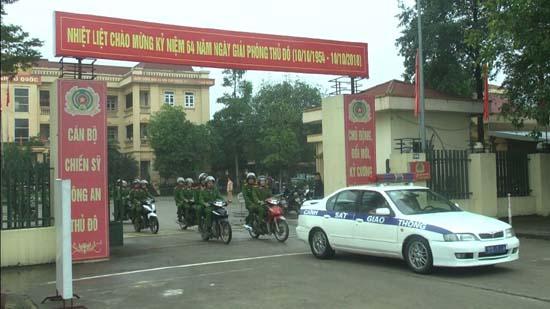Huyện Thạch Thất: Đẩy mạnh công tác đảm bảo an toàn giao thông- trật tự đô thị, trật tự công cộng trên địa bàn huyện